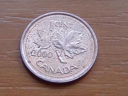 KANADA 1 CENT 2000