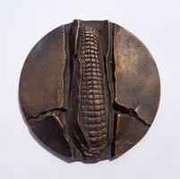 Csíkszentmihályi Róbert éremművész, 1978-as Bábolnai bronz plakett