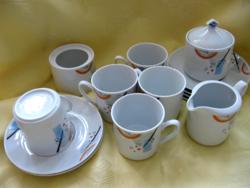 Winterling absztrakt mintás teás készlet