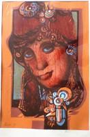 Xantus Gyula: Női portré