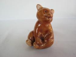 Bodrogkeresztúri kerámia maci