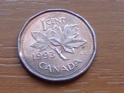 KANADA 1 CENT 1993