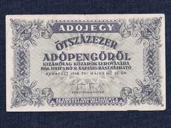 Adójegy Ötszázezer adópengőről 1946/id 7792/