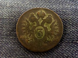 I. Ferenc 3 krajcár 1800 B ?/id 8111/