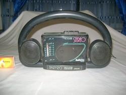 Retro AUDITON rádiós magnó, magnetofon