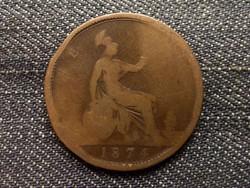 Anglia - Viktória One Penny 1874/id 7876/