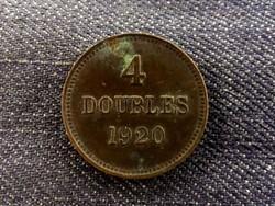 Guensey 4 doubles 1920 (id8116)