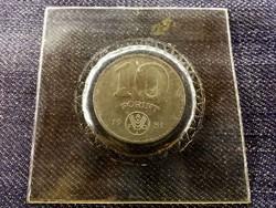 UNC FAO 10 Forint 1981 eredeti banki csomagolásban/id 8085/