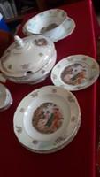 Kahla német porcelán étkészlet 6 személyes