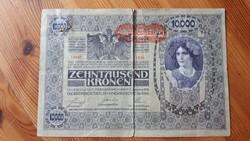 Tízezer Kororna 1918, DÖ.