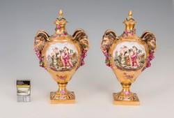 Capodimonte váza párban