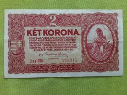 2 Korona 1920/id 2402/