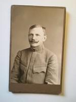 Régi fotó férfi katona portré