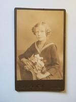 Régi fotó lány portré