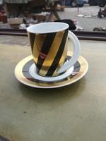 Rosenthal art deco, szignózott csésze.