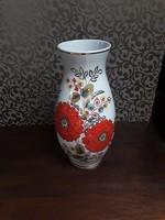 Vintage, nagyon szép virágos porcelán váza  /  2360