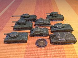 Katonai harckocsi, páncélos, tank gyűjtemény ***ÚJ*** fém