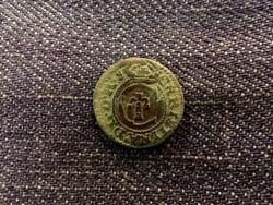 Svéd Livonia (Riga megszállása) - Krisztina királynő ezüst 1 Soldius 1638/id 8154/