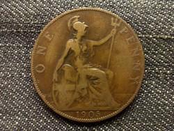 Anglia - Anglia - Viktória One Penny 1905/id 7912/