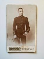 Régi fotó férfi portré, katona