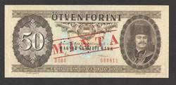 50 forint 1986. MINTA.  UNC!!