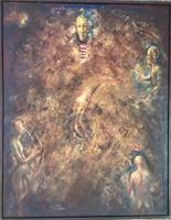 """Várady Róbert """"Mythos IV"""" alkotása"""