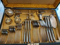 Ezüst étkészlet / evőeszköz készlet