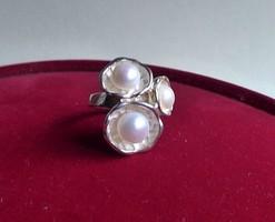 GYÖNGYÖS IPARMÜVÉSZ ezüst gyűrű