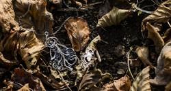 Szecessziós ezüst medál - art nuoveau tündér, nimfa hölgyalakot mintázó áttört, filigrán medál - 925