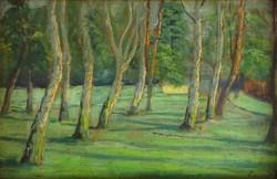0W168 Ismeretlen festő : Erdőbelső