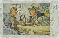 0W178 Leo Delitz I. vh tábori képeslap 1917