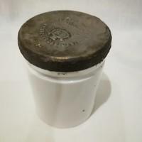 Kígyó Gyógyszertár Udvari Szállító fém tetős porcelán patika tégely