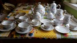 Porcelán kávés, teás készlet eladó!
