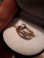 Brill gyűrű kisérő gyűrűvel