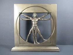 Vitruvius-tanulmány Leonardo