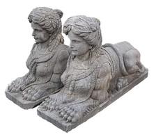 Antik márvány szfinx szobor