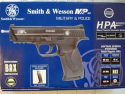 Smith and Wesson M&P40 spring tartalék tárral + 10.000 lövedék (Airsoft, nem használt)