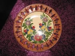 Banyitné csipkéskerámia tányér,  27,7cm, 85.