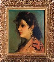François GALL Erdélyi Gáll Ferenc: Madame Brouay arcképe