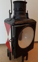 DB német régi vasutas petróleum lámpa