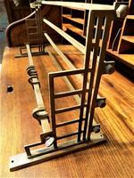 Art-deco , Bauhaus Tömör réz fali fogas EXTRA !!! 70 cm Retró loft design
