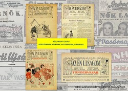 1941 április 6  /  Az Én Ujságom / Tündérvásár  /  RÉGI EREDETI ÚJSÁG Szs.:  5991