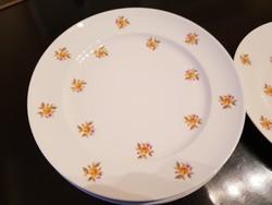 Alföldi desszertes tányérok, virágmintásak, sosem használtak (4 db)