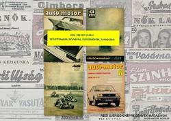 1977 április  /  autó-motor  /  SZÜLETÉSNAPRA RÉGI EREDETI ÚJSÁG Szs.:  3523