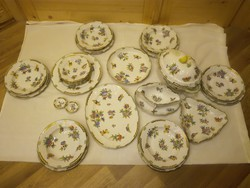 Herendi Viktória mintás porcelán étkészlet! 26 db!