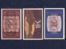3 db osztrák szükségpénz 1920 (id7581)