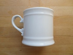 Bauscher Weiden Bavaria formás fehér porcelán bögre 3 dl