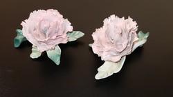 2db ENS porcelán szegfű