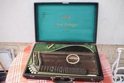 RÉGI CITERA OSZTRÁK EDUARD HEIDEGGER LINZ. Ausztria cimbalom jellegű pengetős hangszer!