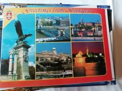 Budapest látképe képeslap